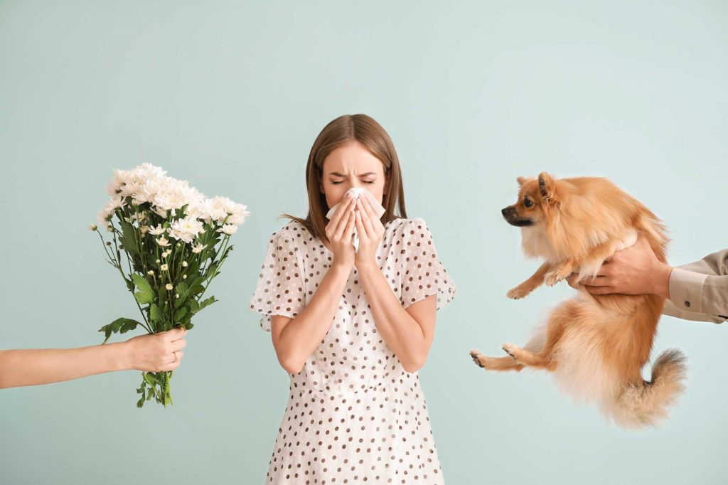 Hearing loss and allergies